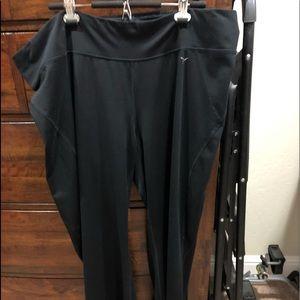 Black activewear pants